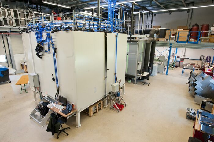 Test Bench for Heating and Cooling Systems